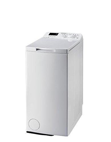 Indesit ITW D 61252 W DE Waschmaschine TL / A++ / 173,0 kWh/Jahr / 1200 UpM / 6 kg / 8926,0 L/Jahr / 15-min-Expressprogramm/Soft-Opening / weiß