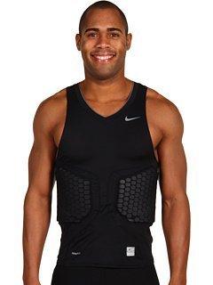 Nike Pro Combat - Canottiera da basket con imbottiture a compressione sui fianchi, misura media