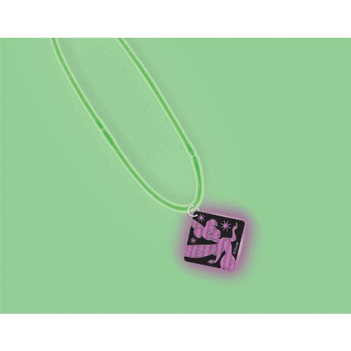 Disney Fairies Party Favors - 1 Glow in The Dark Pendant Necklace