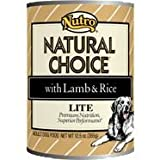 Nutro Natural Choice Lite with Lamb and Rice Canned Dog Food