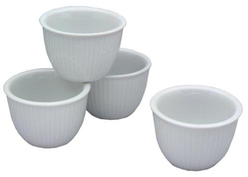 BIA Cordon Bleu 7-Ounce Porcelain Custard Cups, Set of 4 - Buy BIA Cordon Bleu 7-Ounce Porcelain Custard Cups, Set of 4 - Purchase BIA Cordon Bleu 7-Ounce Porcelain Custard Cups, Set of 4 (BIA Cordon Bleu, Home & Garden, Categories, Kitchen & Dining, Cookware & Baking, Baking, Ramekins & Souffle Dishes)