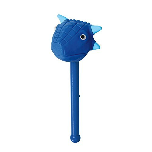 Dino Puppet-On-A-Stick - Blue Dino Buster - 1