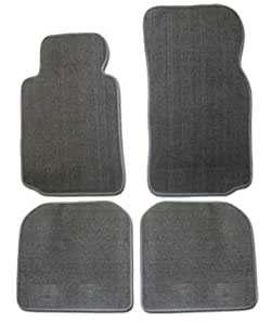 Avery's AV-48-8901-3909 Honda Civic Sedan 2012 Luxury Touring Custom Berber Carpet Floor Mats - Black 4 Piece Set