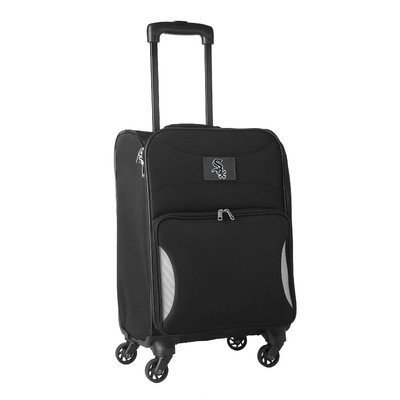 mlb-chicago-white-sox-lightweight-nimble-upright-carry-on-trolley-18-inch-black-by-mlb
