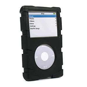 Speck Products iPod Video ToughSkin w/ Belt Clip - Black