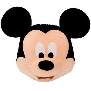 Mickey Mouse Plush Head Cushion Pillow