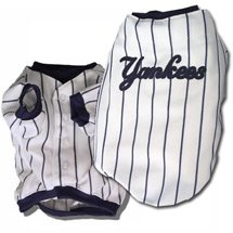 York Yankees Baseball Dog Jersey - Extra Small from Sporty K-9
