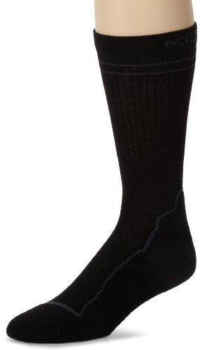 KEEN Men Bellingham Crew Lite Sock(Black,Medium