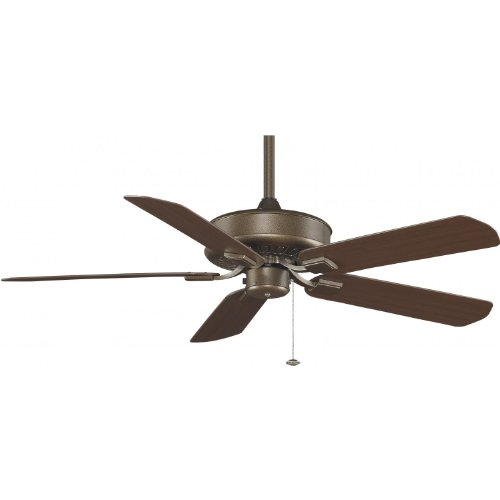 Fanimation Edgewood 50 Inch Outdoor Ceiling Fan - Aged Bronze