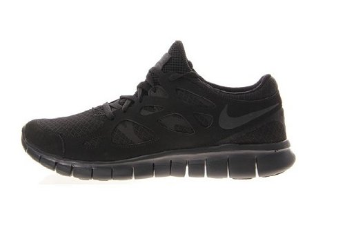 fully black nike free runs
