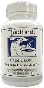 Calm Dragon 120 Tablets by Kan Herbs