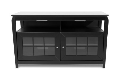 Techcraft BAY4828B 48-Inch A/V Entertainment Center (Black)