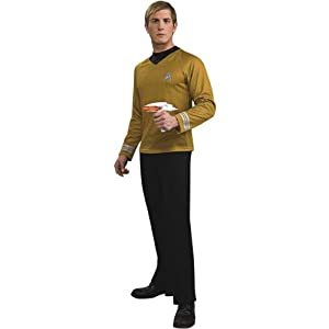 Adult Star Trek Captain Kirk Halloween Costume Adult Plus (jacket 46-52)