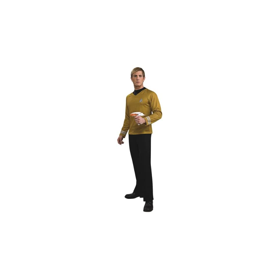 Adult Star Trek Captain Kirk Halloween Costume Adult Plus (jacket 46 52)