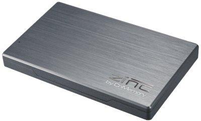 CnMemory Zinc externe Festplatte 500GB (6,4 cm (2,5 Zoll), USB 3.0) silber