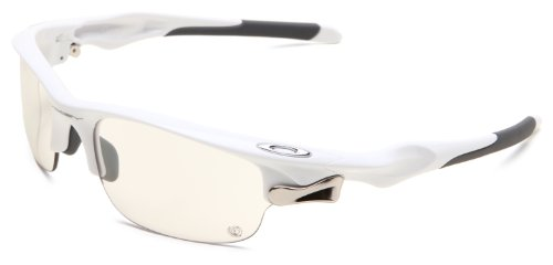 Oakley Fast Jacket polished white/clear black photochromic