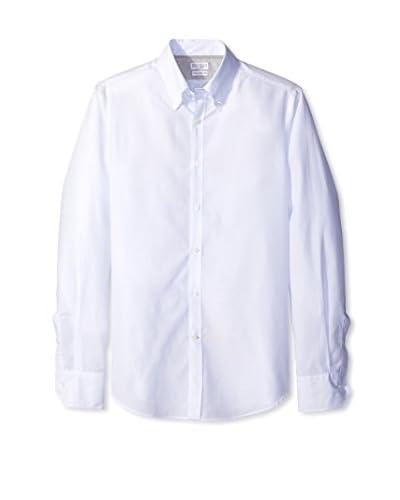 Brunello Cucinelli Men's Check Slim Fit Sportshirt