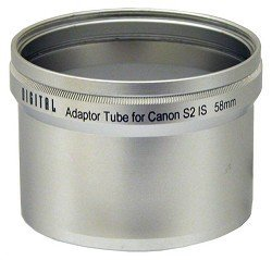 Sakar La-S2 58Mm Lens Barrel Adapter For Canon Powershot S2 / S3