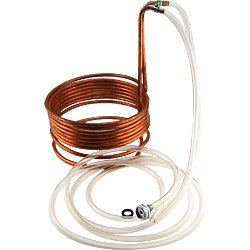Homebrew Immersion Wort Chiller - 25' Copper Tubing