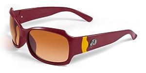 NFL Washington Redskins Bombshell Sunglasses with Bag by Maxx