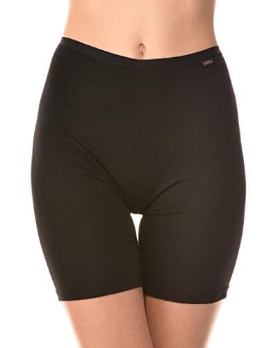 Cotonella Pack x 3 Fajas Pantalón Moldeadoras Negro L (IT IV)