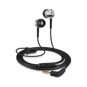 Sennheiser Cx400-Ii (Silver) In-Ear Headphones With Dynamic Speaker System And Integrated Volume Controls