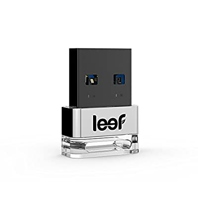 Leef Supra USB 3.0 32GB High Speed USB Flash Drive with PrimeGrade Memory (Charcoal)