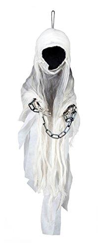 Boland 74551 - Spettro Decorazione Faceless Ghost, 100 cm, Bianco