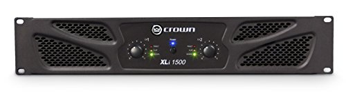 Crown XLi1500 Two-channel, 450W at 4Ω Power Amplifier (Crown Power compare prices)