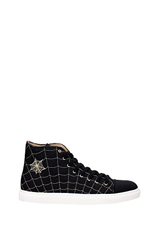 sneakers-charlotte-olympia-men-fabric-black-and-gold-m001176cmc0001-black-8uk