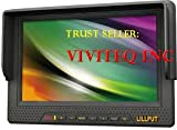 Lilliput 7-inch LCD monitor with HDMI, YPbPr interface, dedicated high-definition video camera by Koolertron