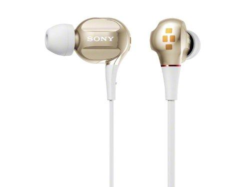 Sony Xba-40/N Gold   Quad Balanced Armature In-Ear Headphones (Japanese Import)