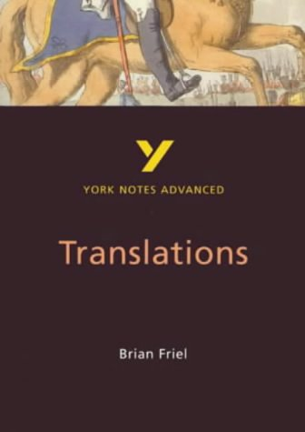 translations brian friel critical essays Brian friel one year on: a critical overview one of the most distinguishing dramatic aspects of translations is friel's (editor), brian friel essays.