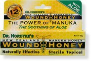 Eras Natural Sciences Wound New Zealand Manuka Honey with Aloe – 80 Gr
