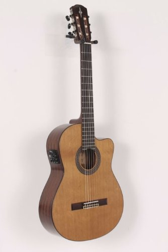 Alvarez Artist Series AC615CE Classical Cutaway Acoustic-Electric Guitar Natural 886830674266