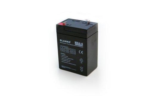 Blei-Akku 6V 4Ah wartungsfrei Bleiakku BLANKO Blei Akku Accu Acid Battery