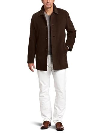 Cole Haan Men's Cashmere Topper Jacket, Espresso, XX-Large