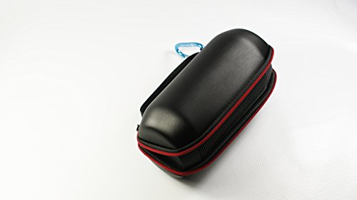 Portable Pu Leather Satin Finish Case Carry Travel Cover Pouch Holder For Jbl Pulse Wireless Bluetooth Speaker Color Black