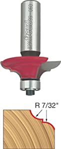 Freud 99-060 Cove and Bead Router Bit for Rail and Stile Doors with 1/2-Inch Shank
