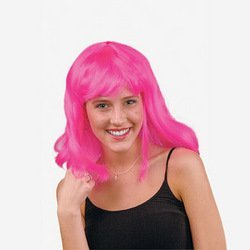 Pink Pageboy Wig [Toy]