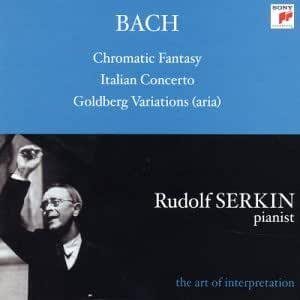 Bach : Fantaisie Chromatique / Concerto Italien / Variations Goldberg (aria)