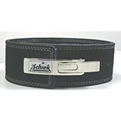 Buy Schiek - L7010-L - Schiek Lever Competition Power Lifting Leather Belt - L by Schiek