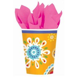Amscan - Cool Splash 9 oz. Paper Cups
