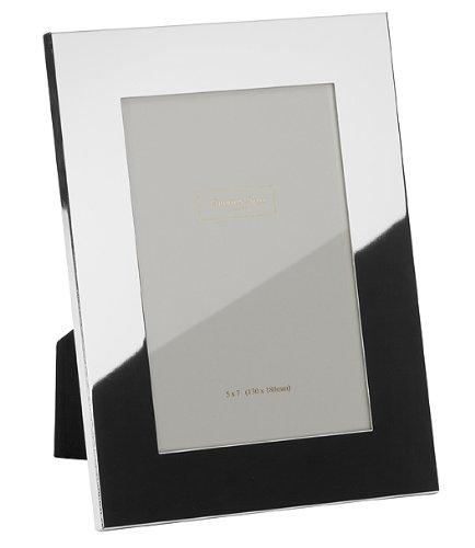 Addison Ross Bilderrahmen, versilbert, 3 cm breiter Rand, 20 x 25 cm