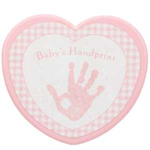 Baby's First Handprint Kit-Girl 5""
