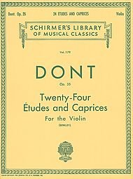 24 Etudes and Caprices, Op. 35: For the Violin