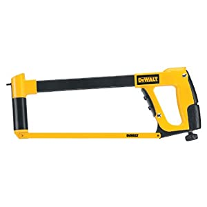 DEWALT DW3970 12-Inch High Tension Hack Saw Frame