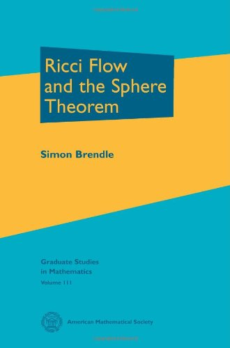 Ricci Flow and the Sphere Theorem (Graduate Studies in Mathematics)