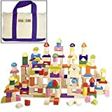 200-Piece Wood Block Set with Tote