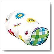 Happy Flowers Neckroll Pillow by Olive Kids